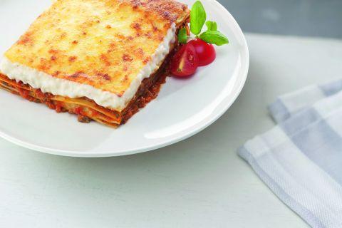 Italiaanse lasagne bolognese