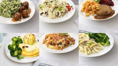 maaltijdbox Vega (6 stuks)