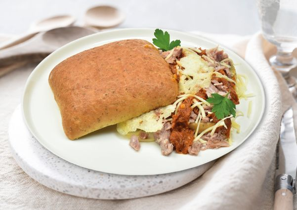 Broodje pulled pork